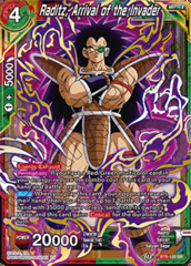 Raditz, Arrival of the Invader - BT8-105 - SR