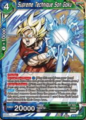 Supreme Technique Son Goku - BT8-117 - UC - Foil