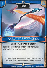 Animated Broomstick