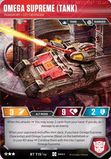 Omega Supreme (Tank) // Transport City Defender