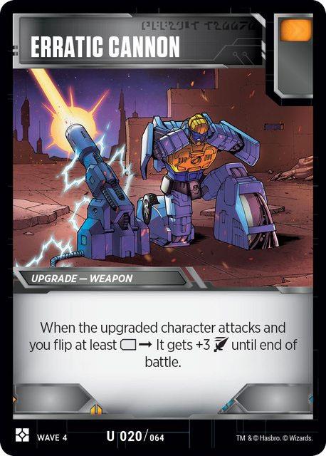 Erratic Cannon