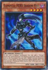 Elemental HERO Shadow Mist - SDHS-EN001 - Super Rare - Unlimited Edition