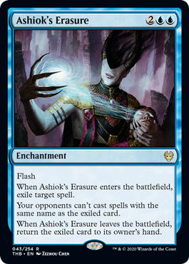 Ashioks Erasure - Foil