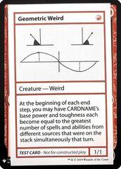 Geometric Weird (PW Symbol)