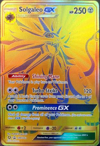 Solgaleo GX - SM104a - SM Black Star Promos