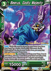 Beerus, Godly Majesty - BT8-053 - R - Pre-release (Malicious Machinations)