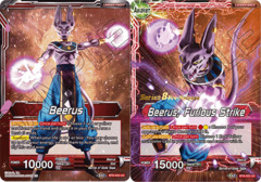 Beerus // Beerus, furious Strike - BT8-002 - UC - Pre-release (Malicious Machinations)