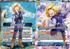 Android 18 // Dependable Sister Android 18 - BT8-023 - C - Pre-release (Malicious Machinations)
