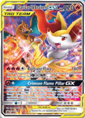 Oversized Charizard & Braixen GX - SM230 - SM Black Star Promo