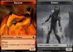 Dragon Token // Zombie Token (2/2 Dragon)