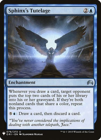 Return to Ravnica Sphinx/'s Revelation Foil x1 Moderate Play English Magic Mtg