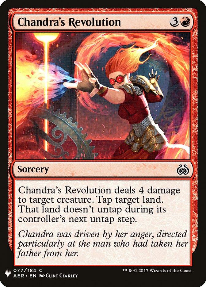 Chandras Revolution