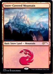 Snow-Covered Mountain - Foil