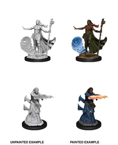 Nolzurs Marvelous Miniatures - Female Human Wizard