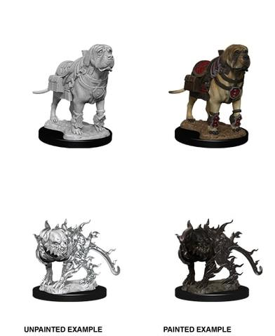 Nolzurs Marvelous Miniatures - Mastif & Shadow Mastif