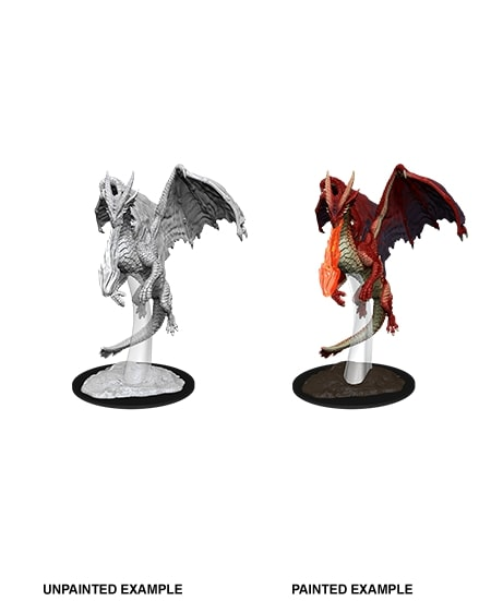 Nolzurs Marvelous Miniatures - Young Red Dragon