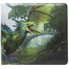 "Dragon Shield: Card Codex Zipster Binder XL - Olive ""Lavom"""
