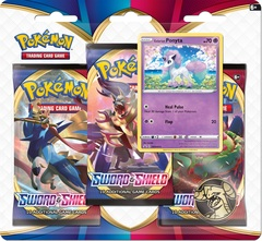 Sword & Shield - Base Set 3 Pack Blister - Ponyta