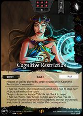 Cognitive Restriction
