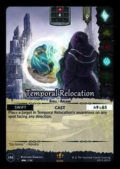 Temporal Relocation
