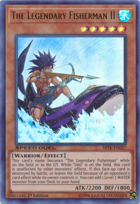 The Legendary Fisherman II - SBTK-EN027 - Ultra Rare - 1st Edition