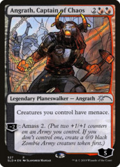 Angrath, Captain of Chaos - Foil - Stained Glass
