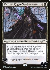 Davriel, Rogue Shadowmage - Foil - Stained Glass