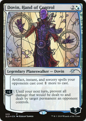 Dovin, Hand of Control - Foil - Stained Glass