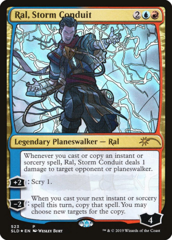 Ral, Storm Conduit - Foil - Stained Glass