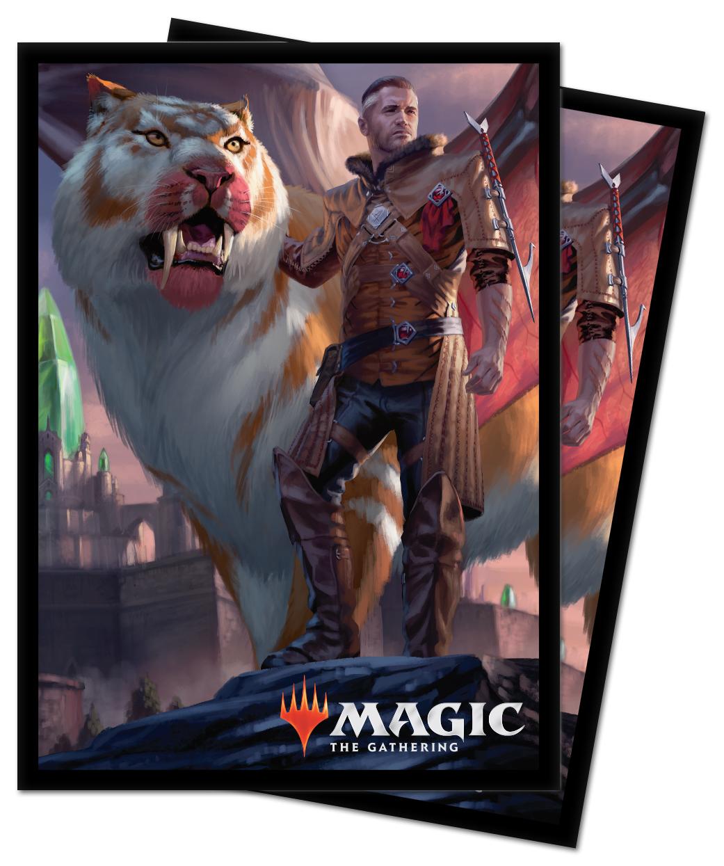 Ultra Pro - Ikoria: Lair of Behemoths Deck Protector Sleeves - Lukka, Coppercoat Outcast