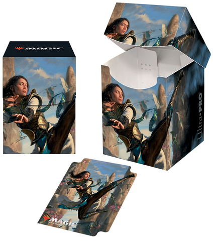 Ultra Pro - Ikoria: Lair of Behemoths PRO 100+ Deck Box - Narset of the Ancient Way
