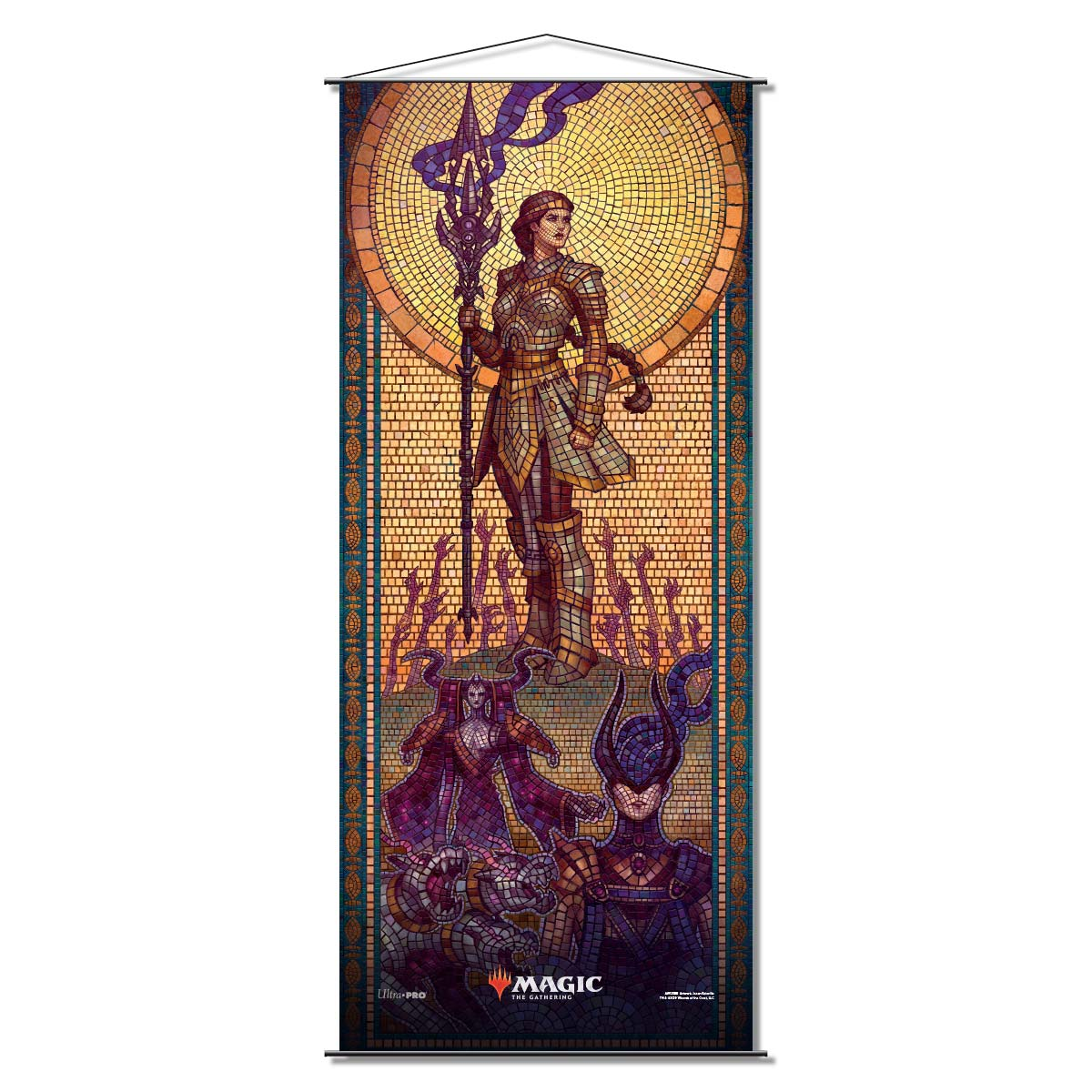 Ultra Pro - Theros Beyond Death Wall Scroll - Elspeth Conquers Death