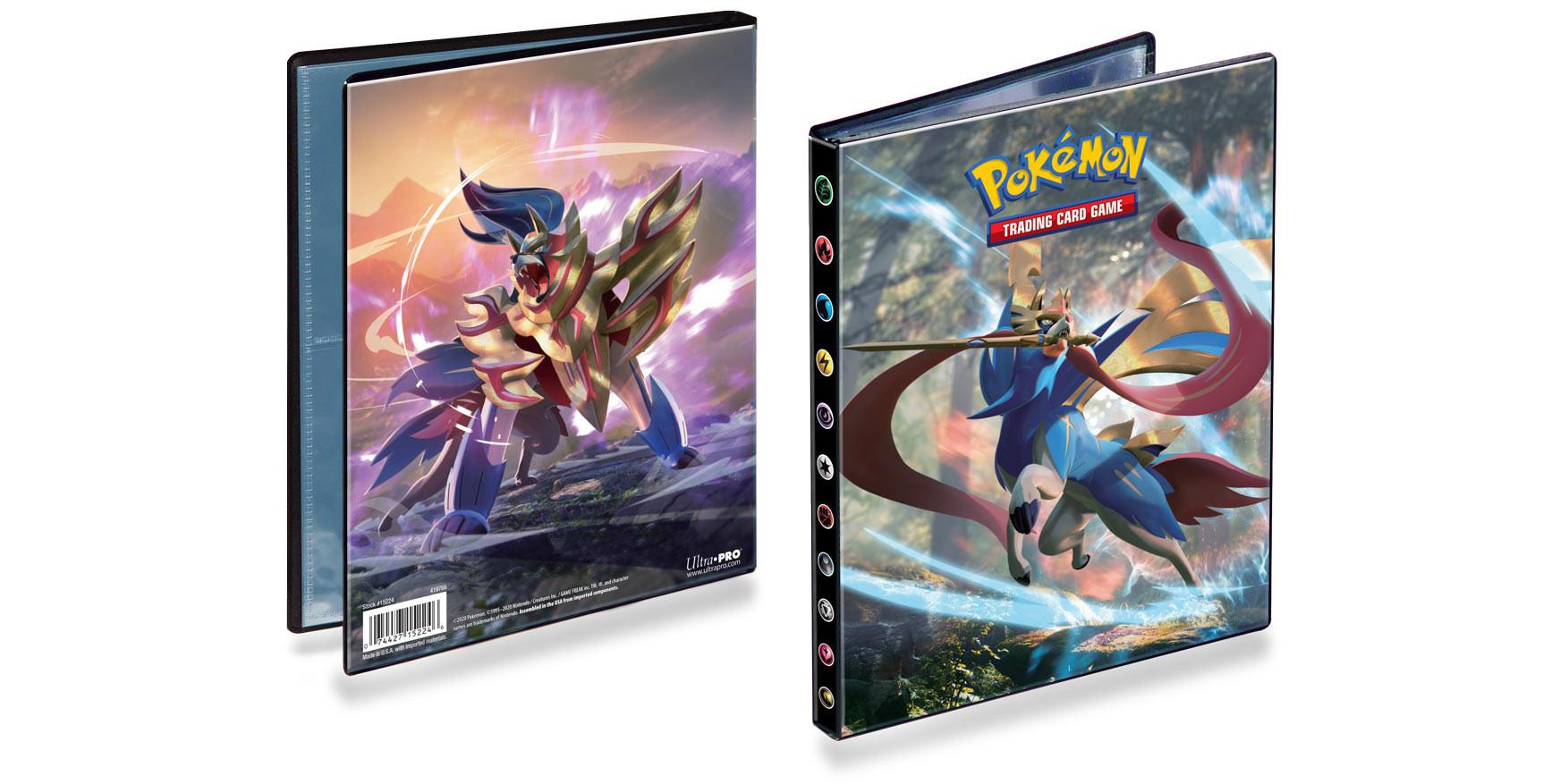Ultra Pro - Pokemon Sword & Shield 4-Pocket Portfolio