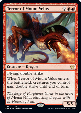 Terror of Mount Velus - Theme Booster Exclusive