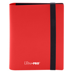 Ultra Pro - 2-Pocket Eclipse Apple Red PRO-Binder