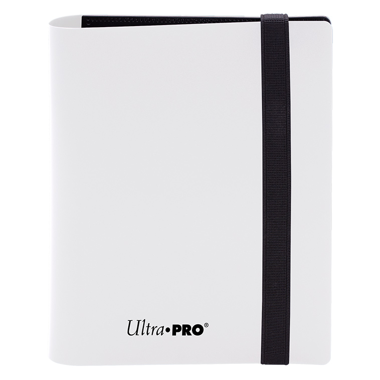 Ultra Pro - Eclipse 4-Pocket PRO-Binder (Holds 160 Cards Total) - Arctic White