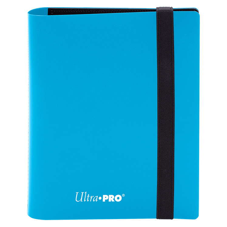 Ultra Pro - Eclipse 4-Pocket PRO-Binder (Holds 160 Cards Total) - Sky Blue