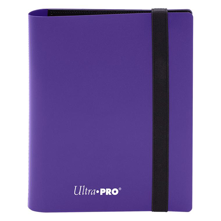 Ultra Pro - 4-Pocket Eclipse Royal Purple PRO-Binder