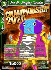 Zen-Oh, Almighty Guardian - P-203 - Championship 2020 Promo