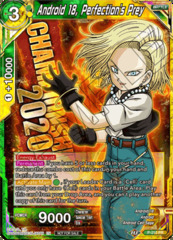 Android 18, Perfection's Prey - P-210 - Championship 2020 Promo