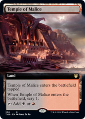 Temple of Malice - Extended Art