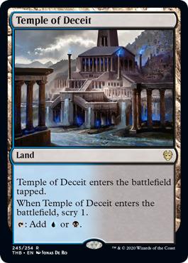 Temple of Deceit - Foil