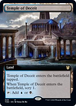 Temple of Deceit (Extended Art) - Foil