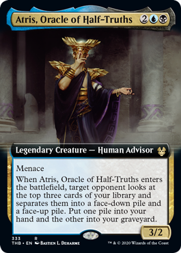 Atris, Oracle of Half-Truths - Foil - Extended Art