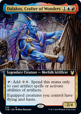 Dalakos, Crafter of Wonders - Foil - Extended Art