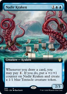 Nadir Kraken (Extended Art) - Foil