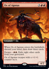 Ox of Agonas (Extended Art) - Foil