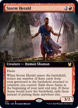 Storm Herald - Foil - Extended Art