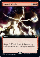 Storms Wrath - Foil - Extended Art