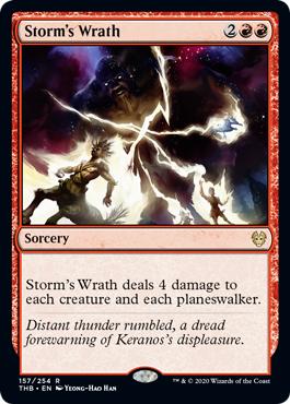 Storms Wrath - Foil
